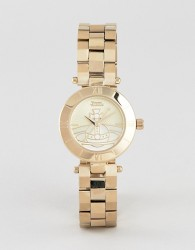 Vivienne Westwood VV092CPGD ladies orb westbourne watch in gold - Gold