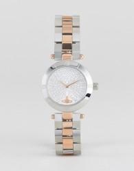 Vivienne Westwood VV092SSRS Bracelet Watch In Mixed Metal - Gold