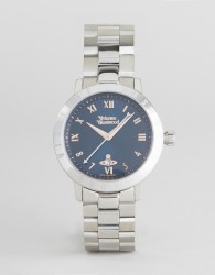 Vivienne Westwood VV152NVSL Bracelet Watch In Silver - Silver
