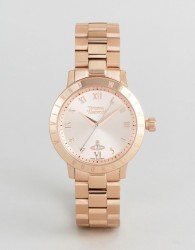 Vivienne Westwood VV152RSRS Bracelet Watch In Rose Gold - Gold