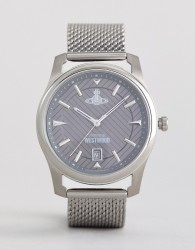 Vivienne Westwood VV185GYSL Mesh Watch In Silver - Silver