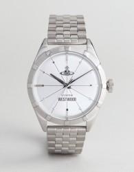 Vivienne Westwood VV192SLSL Conduit Bracelet Watch In Silver - Silver