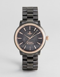 Vivienne Westwood VV196GNGN Shoreditch Bracelet Watch In Black - Black