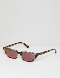 Vogue Eyewear 0VO5235S cat eye sunglasses in tort by Gigi Hadid - Brown