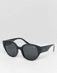 Vogue Eyewear 0VO5242S round sunglasses in black - Black