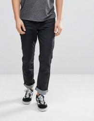 Voi Jeans Coated Regular Fit Jeans - Black