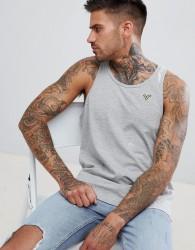 Voi Jeans Embroidered Vest - Navy