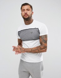 Voi Jeans Ford Panel T-Shirt - White