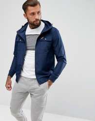 Voi Jeans Prescot Zip Thru Windbreaker Jacket - Navy