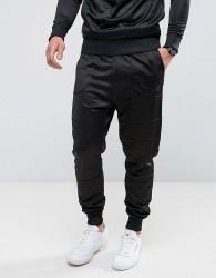 Voi Jeans Profile Slim Fit Joggers - Black