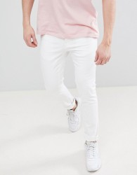 Voi Jeans Skinny Fit Jeans in White - White