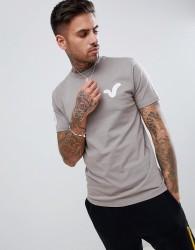 Voi Jeans Swirl Logo T-Shirt - Navy