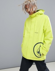 Volcom 17 Forty Insulated Jacket in Yellow - Yellow