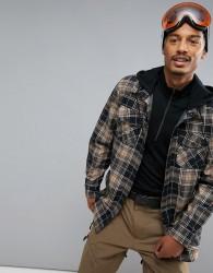 Volcom Field Bonded Flannel Jacket - Black