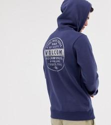 Volcom hoodie in blue - Blue