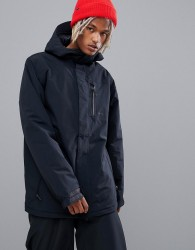 Volcom insulated gore-tex snowboard jacket in black - Black