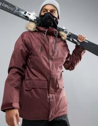 Volcom Midtown Insulated Ski Coat - Red