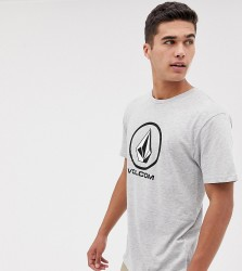 Volcom t shirt in grey - Grey