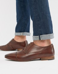 WALK London City oxford shoes in brown leather - Brown