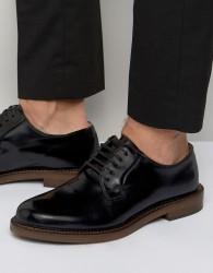 Walk London Darcy Derby Shoes - Black