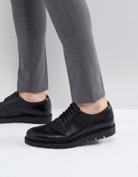 Walk London Timmy Chunky Shoes In Black - Black