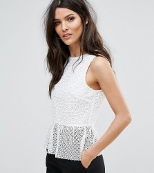 Warehouse Linear Top - White