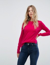 Warehouse Round Neck Jumper - Pink