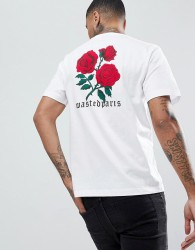 Wasted Paris Amore T-Shirt In White - White