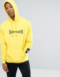 Wasted Paris London Hoodie In Yellow - Yellow