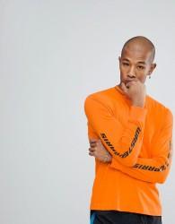 Wasted Paris Squadra Long Sleeve T-Shirt In Orange - Orange