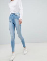 Waven Anika High Waisted Skinny Jeans - Blue