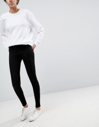 Waven Asa Mid Rise Skinny Jeans - Black
