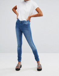Waven Asa Mid Rise Skinny Jeans - Blue