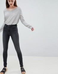 Waven Asa Mid Rise Skinny Jeans - Grey