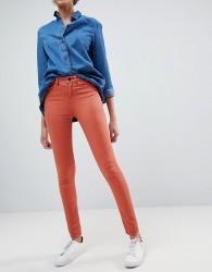 Waven Asa Mid Rise Skinny Jeans - Orange