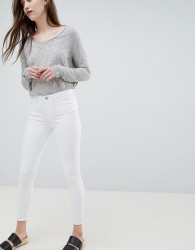 Waven Classic Low Rise Skinny Jeans - White