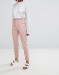 Waven Elsa Mom Jean in Pastel - Pink
