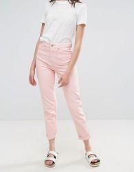 Waven Elsa Pink Mom Jeans - Pink