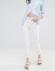 Waven Elsa White Mom Jeans - White
