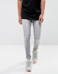 Waven Extreme Skinny Fit Jeans in Light Used Grey - Grey