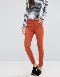 Waven Freya Skinny Ankle Grazer Jeans - Orange