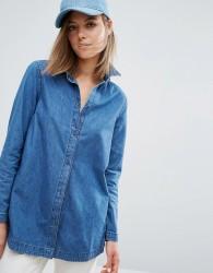 Waven Nott Denim Shirt - Blue