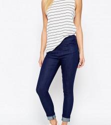 Waven Petite Freya Ankle Grazer Skinny Jeans - Blue