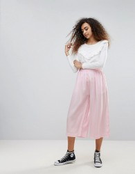 Waven Rae Wide Leg Culottes - Pink