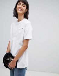 Waven Sean logo t-shirt - White
