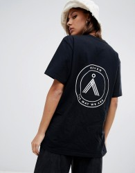 Waven Sten emblem t-shirt - Black