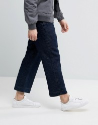 Weekday Bond Denim Trousers Carbonated - Blue