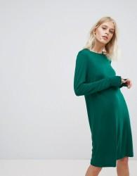 Weekday Column Dress - Green