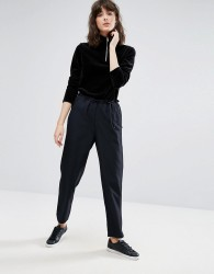 Weekday Drawstring Trousers - Navy