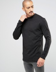 Weekday Jake Neps Longsleeve Top - Black